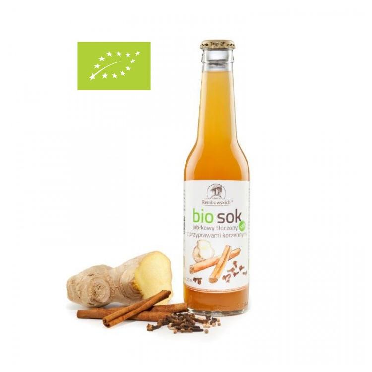 Bio sok jabłkowy z przyprawami korzennymi 275 ml